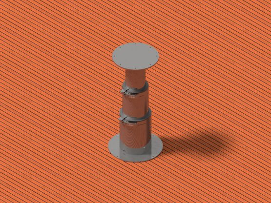 3 stage manual pedestal